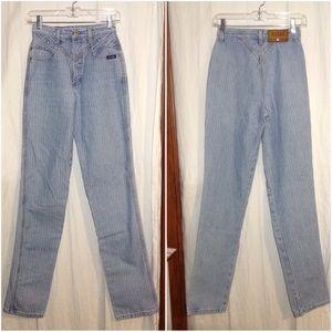 Women's Size 27/5 Rockies Pinstripe Jeans